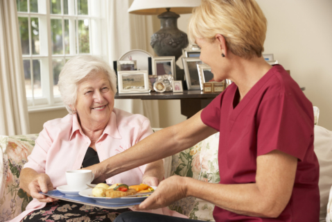 How Serving Meals to Seniors Can Be Made Easier