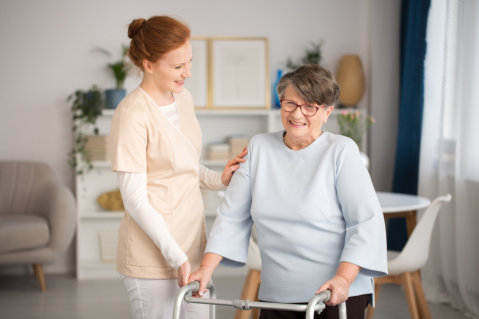 5 Simple Tips to Get a Senior Walking